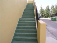 Как выронить бетонные ступени.