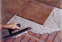 Основные этапы укладки керамической плитки