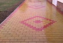 Характеристика бетонной брусчатки