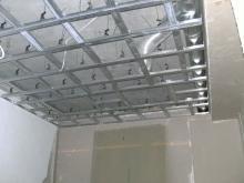 Монтаж потолка из гипсокартона фото