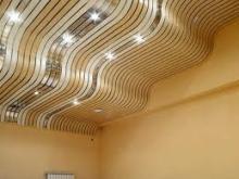 Реечные потолки для вашей квартиры фото